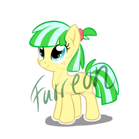 Apple Fritter x Coco Pommel Adopt Auction [SOLD] by Furreon