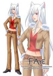 The Nine-Lives Char 04:Faye by Bayou-Kun