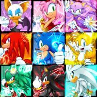 Team Sonic by CristianHarold0000