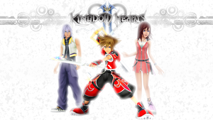 Kingdom Hearts II Wallpaper Request! by ThatCraigFellow