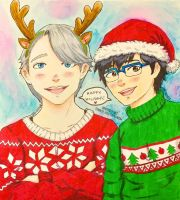 A Victuuri Christmas by BittersweetGeek
