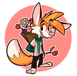 Will you be my valentine? by zilchfox