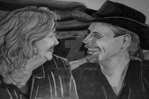 Bill and Kathy - 2011 by B-Richards