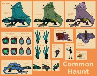 Common Haunt Ref by Dragimal