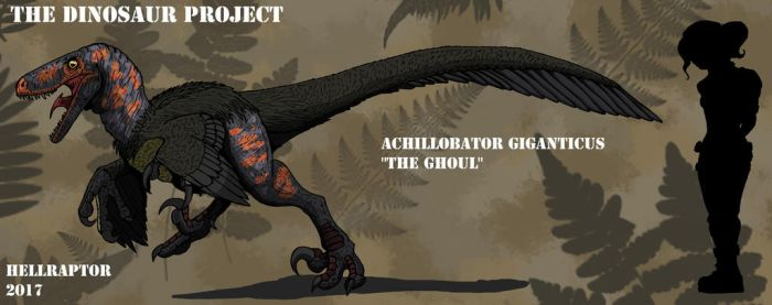 Achillobator giganticus-The Ghoul by Hellraptor