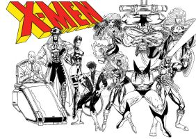 X-Men Character Introduction for X.M.A vol.3 by Yantonoliong