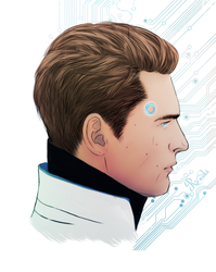 Detroit Become Human|Connor by YaroslavaPanina