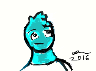 Osmosis Jones quick sketch by Tenshi3D
