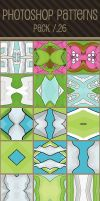 Photoshop Patterns - Pack 26 by punksafetypin