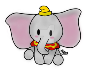 Dumbo the Ninth Wonder of the Universe by Stranger-Potatoes