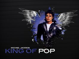 King of Pop - Michael Jackson by toxicspirit