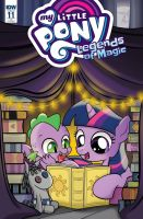 My Little Pony: Legends of Magic #11 RI Cover by dSana
