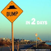 New Bumps Ahead Ad T-2 by BumpOnALog