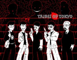 Tribes of Tokyo crew by Crazon