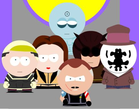 Watchmen South Park by Metallicfire0
