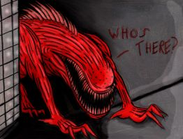SCP-939 With Many Voices by charcoalman