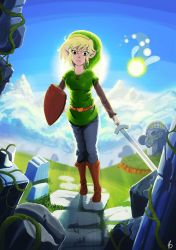 Linkgirl by Art-Muse