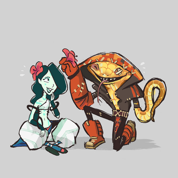 Akapos Pals by Obsequious-Minion