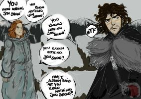 and Ygritte says.... by AlexielApril