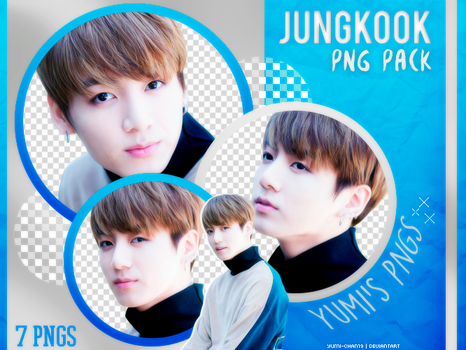 PNG PACK: Jungkook (BTS) #11 by Hallyumi