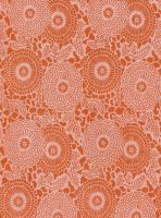 Orange Floral - free to use by amberwillow
