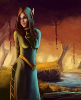 Blood Elf by endave