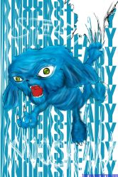 'Mad Blue'  Knocksteady Comp. by todraw