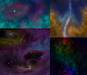 OH -SS- Nebulae by caat