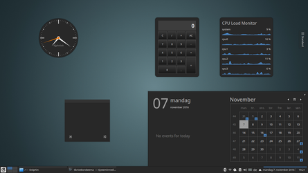 Nightshade 2.8 - KDE Plasma theme by DarkBeastOfPrey