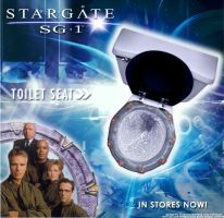 StarGate sg-1 Toilet seat by TailsMad