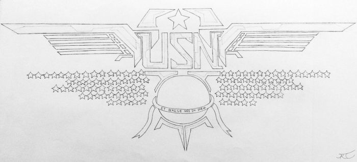 United Sovereignty of Nations Emblem (Project A) by AngelOfNope