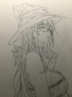 Witch Girl by aderpydrummer