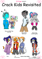 MH: Crack Kids Revisited by KPenDragon