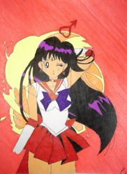 Sailor Mars by DavisJes