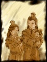 A:tLA - Royal Fire Family by JadeRaven93