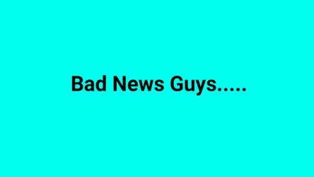 Bad News Guys..... (IMPORTANT) by stephenthehunter