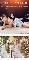 Dusty Vintage Photoshop Action Set by Welton-Arruda