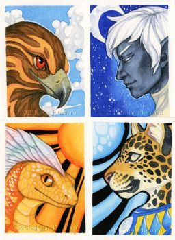 Patreon Watercolors - Night and Day by KatieHofgard