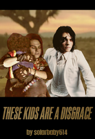 These Kids Are A Disgrace Fic Cover by thriceandonce