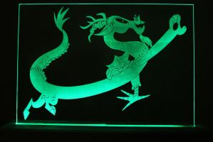 Discord Acrylic LED Picture by steeph-k