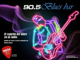 Banner para 90 5 Blues bar by sapienstoonz