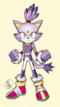 Sonic Boom Adventure: Blaze the Cat by HavocGirl