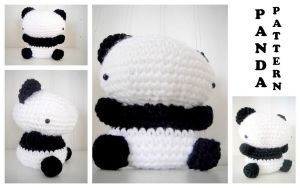 Amigurumi Panda Bear Pattern by TheSlushie