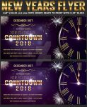 Nye Countdown Party Flyer Template by Hotpindesigns