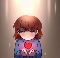 UNDERTALE GLITTER AMV - Frisk Animation by CreatorOfCastell