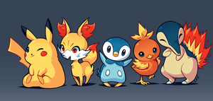 20 years of Pokemon! by ZoeStanleyArts