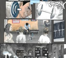 ''Mail to Family'' sample panels and pages III by Soposoposopo