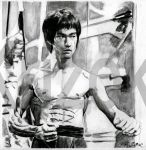 Bruce Lee - Enter the Dragon by krizok