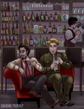Tony you cad, SteveTony by sw