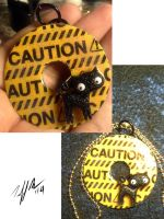 Caution Cat by shivaesyke